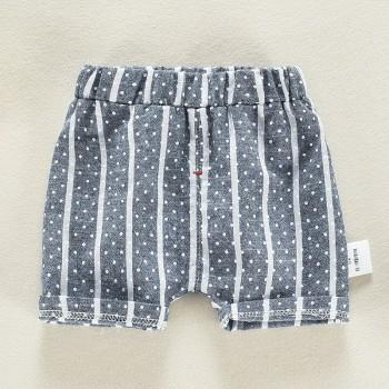 Trendy Polka Dotted Striped Shorts for Baby