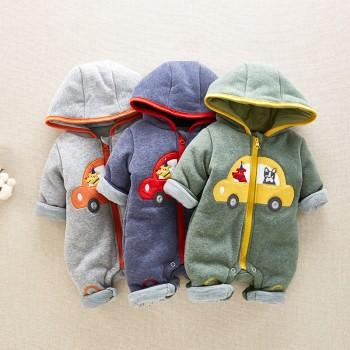 Cool Car Jumpsuit for Baby