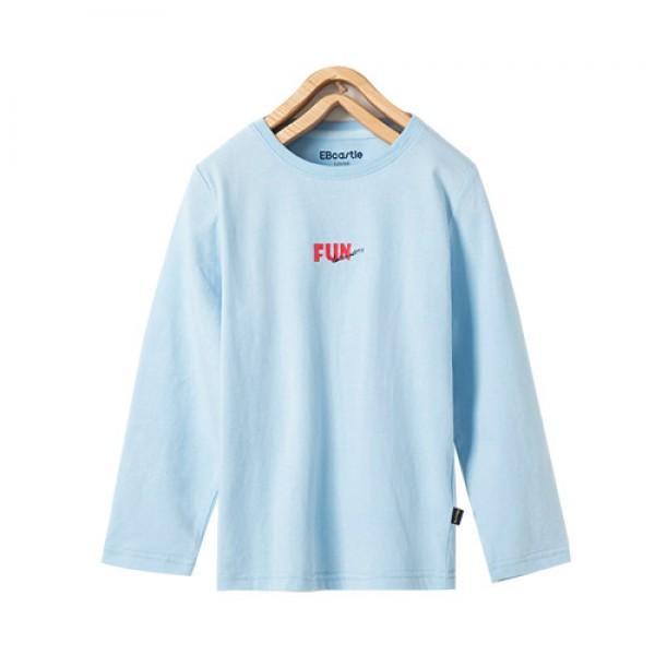 Trendy FUN Print Long-sleeve Tee for Boy