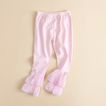 Pretty Pearl Decor Pants for Toddler Girl and Girl