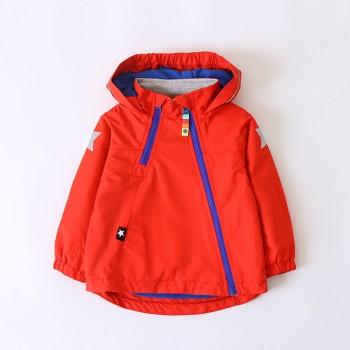 Stylish Star Print Hooded Fleeced Jacket for Toddler Boy and Boy