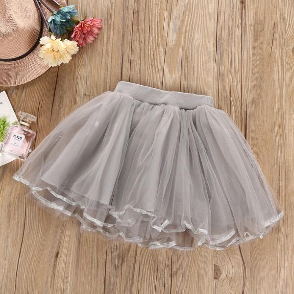 Pretty Cat/Star Print Short-sleeve Tee and Tutu Skirt Set for Baby Girl/Girl
