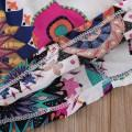 Vibrant Floral Slip Dress for Baby and Toddler Girl