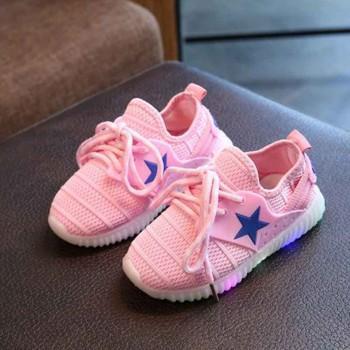 Breathable LED Sneaker for Kids
