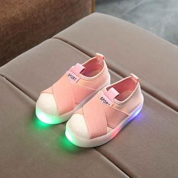 Cool LED Slip-on Sneakers for Kid
