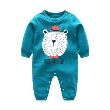 Cool PERFECT BEAR Long-sleeve Jumpsuit for Baby
