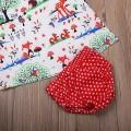 3-piece Animal Tank Top, Polka Dotted Bloomers and Headband Set for Baby Girl