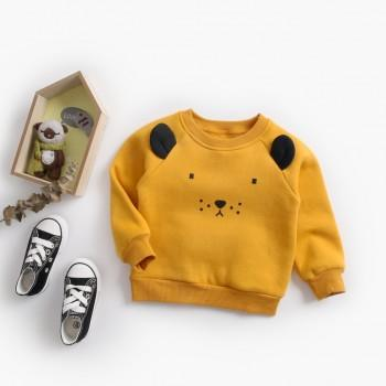 Super Lovely Lion Design Long-sleeve Top for Baby