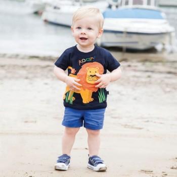 Toddler Boy's ROAR Lion Print Tee