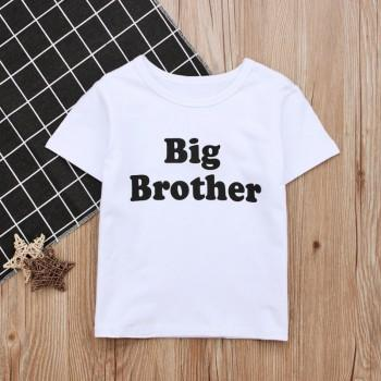 Comfy BIG BROTHER Short Sleeves Tee for Boys