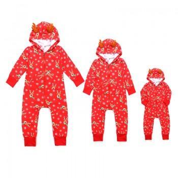 Stylish Elk Design Long-sleeve Family Onesie Pajamas