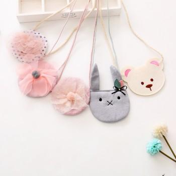 Sweet Flower/Animal Design Decorative Bag for Baby Girl