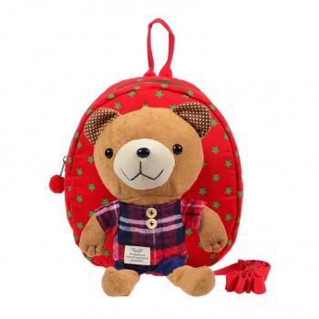 Cute Bear Zip Backpack for Baby