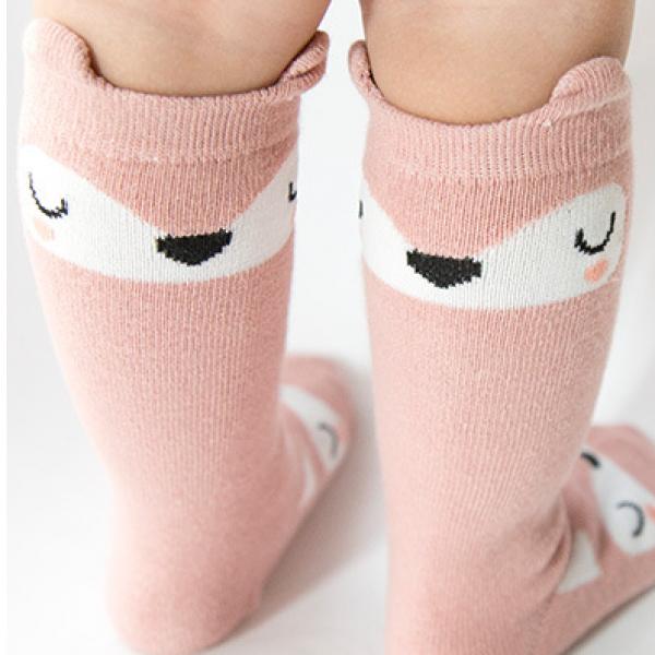 Lovely Animal Print Stockings for Baby