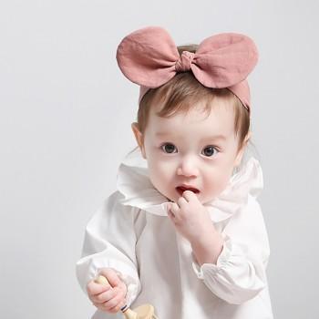 Fashionable Ear Detail Headband for Baby Girl