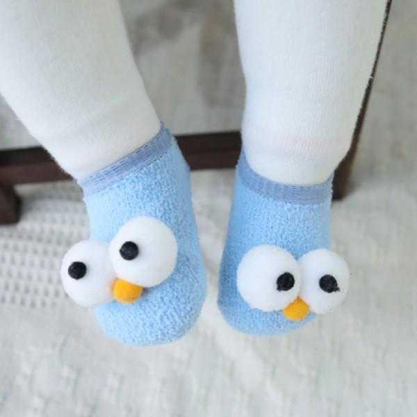 Cute 3D Big Eyes Design Socks for Baby