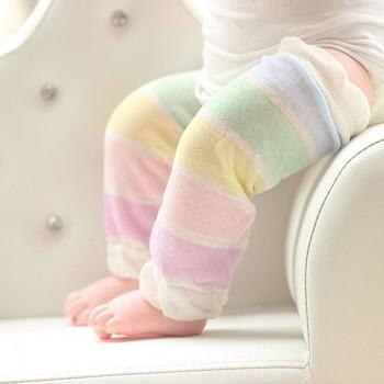 Pretty Floral Leg Warmers for Toddlers