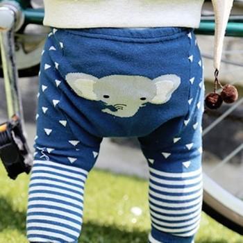 Cute Animal Print Leggings for Baby Girl