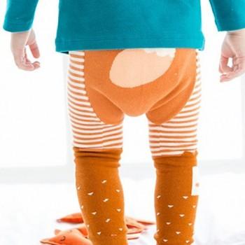 Lovely Animal Print Leggings for Baby