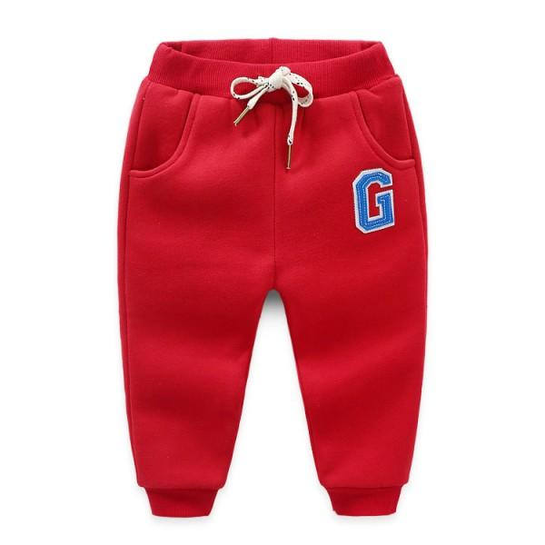Comfy Drawstring Waist Pants for Boy