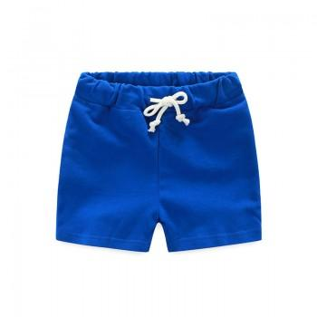 Sporty Drawstring Waist Shorts for Kid