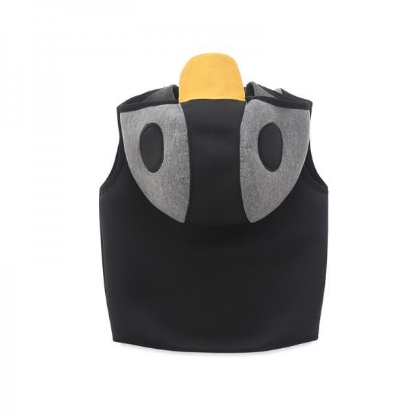 Lovely Hooded Penguin Design Vest for Boy