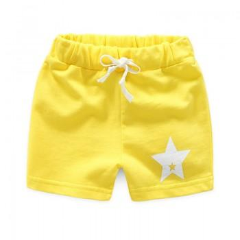 Sweet Star Print Stretchy Shorts for Boy