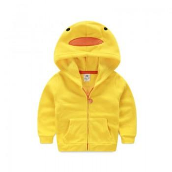 Sweet Duck Hooded Zip Jacket for Toddler and Kid