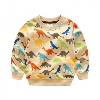 Colorful Dinosaur Pattern T-shirt for Boy