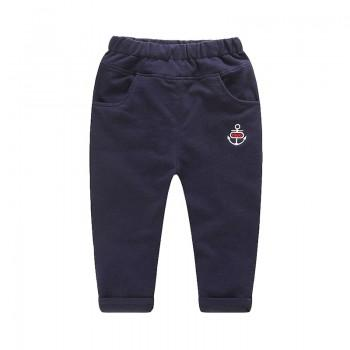Casual Anchor Print Pants for Boy