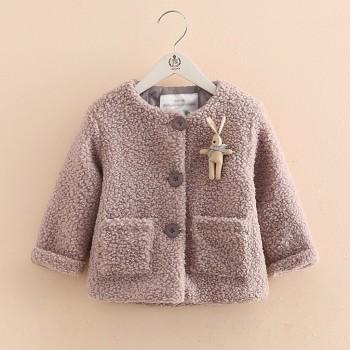 Lovely Animal Design Long-sleeve Coat