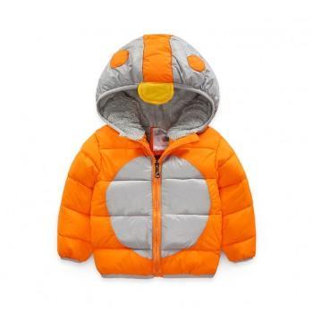 Lovely Penguin Design Long-sleeve Hooded Coat