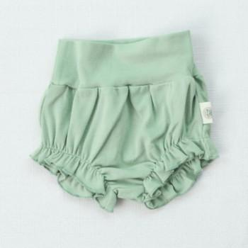 Solid Ruffled Shorts for Baby Girl