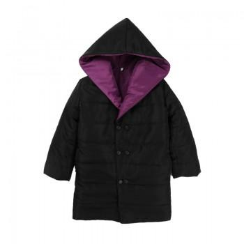 Fashionable Hooded Long Coat for Girl