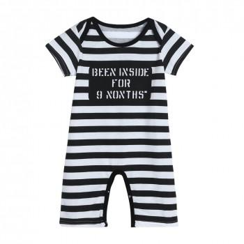 Cool Stripe Jumpsuit for Baby