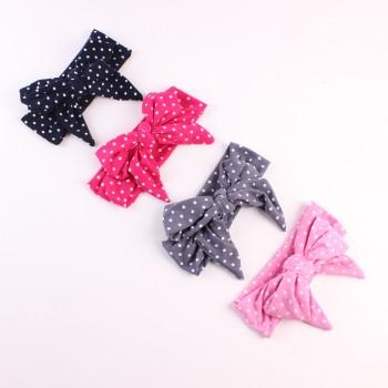 Polka Dot Bowknot Hairband for Little Girls