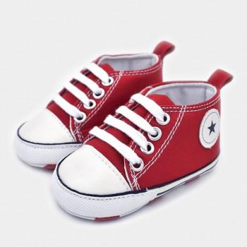 Casual Star Applique Canvas Shoes for Toddler