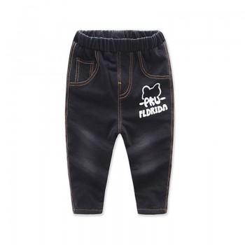 Cool Letter Print Jeans for Baby