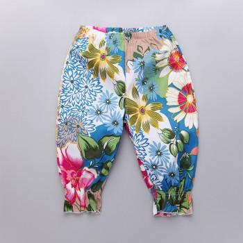Pretty Floral Pants for Girls
