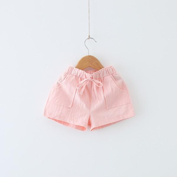 Sweet Ice Cream Short-sleeve Top and Pink Shorts for Toddler/Baby