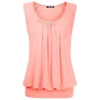 Women's Casual Solid Sleeveless Top