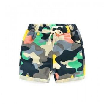 Fashionable Camouflage Shorts for Toddler Boy and Boy