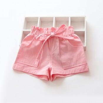 Trendy Solid Shorts for Toddler Girl and GirlS