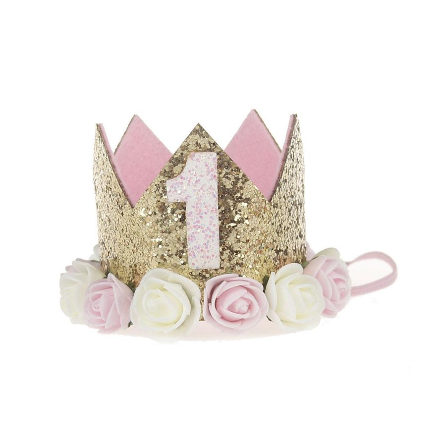 Shiny flower crown for baby girl patpat izmirmasajfo