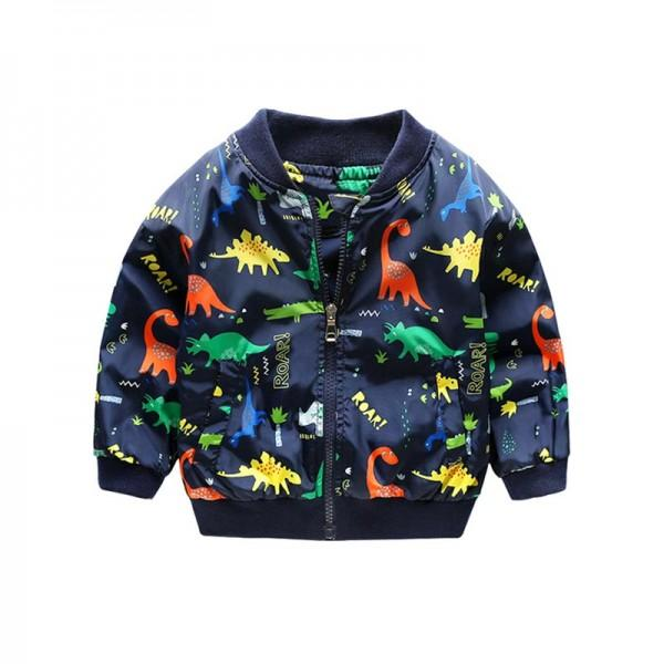 Dino Print Sport Coat for Baby and Toddler Boys