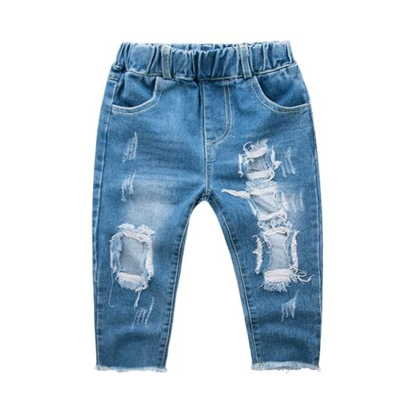Stylish Ripped Jeans for Toddler Boy and Boy