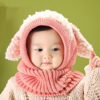 Adorable Dog Design Cotton Hat for Baby