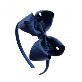 Beautiful Solid Bow Hairband for Girls