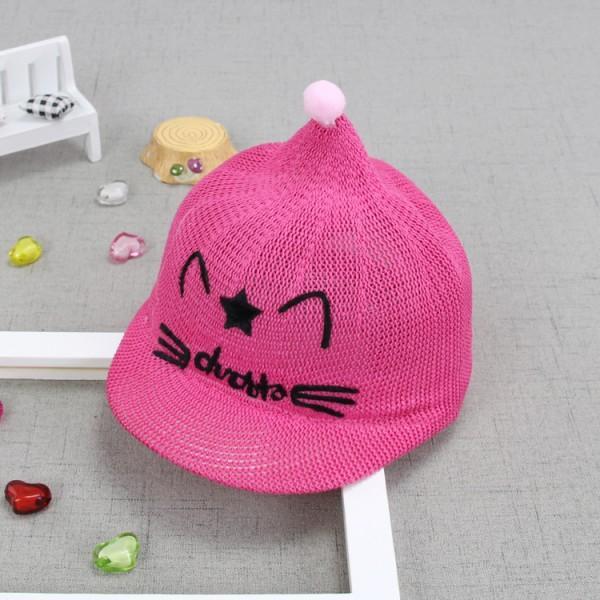 Lovely Cat Applique Knit Cap For Baby Patpat