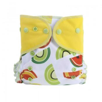 Baby's Reusable Washable Adjustable Colorful Cloth Diaper